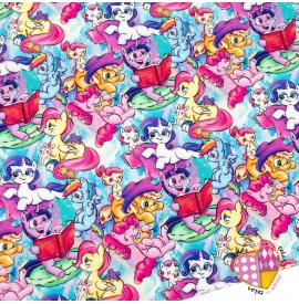 Popelin Caricaturas Little Pony Colorfull